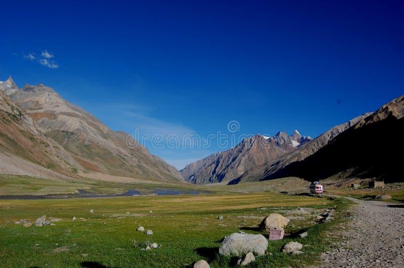 Кашмир - рай на земле стоковое фото rf