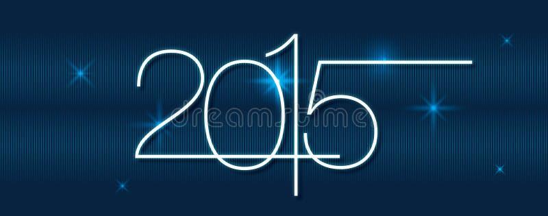 Календарь 2015 вектора иллюстрация штока