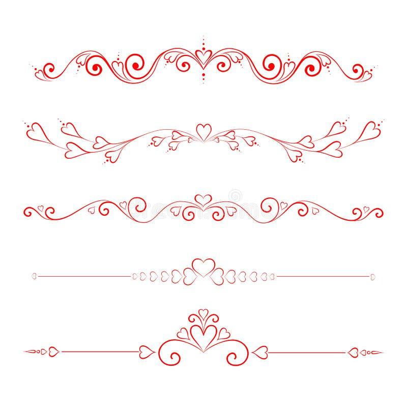 каллиграфическо иллюстрация вектора