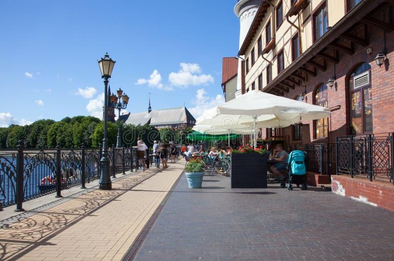 Калининград, Россия стоковое фото