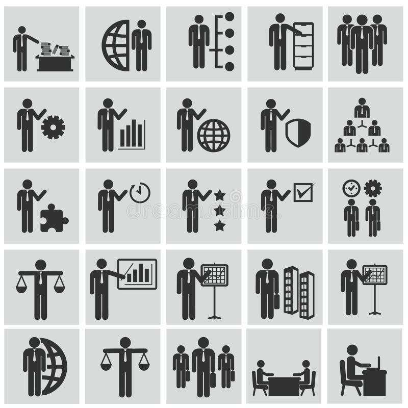 Кадровые ресурсы и управление иллюстрация штока