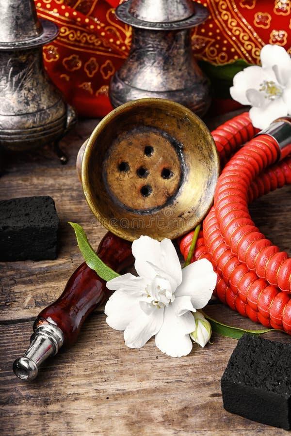 Кальян с вкусом жасмина стоковая фотография rf