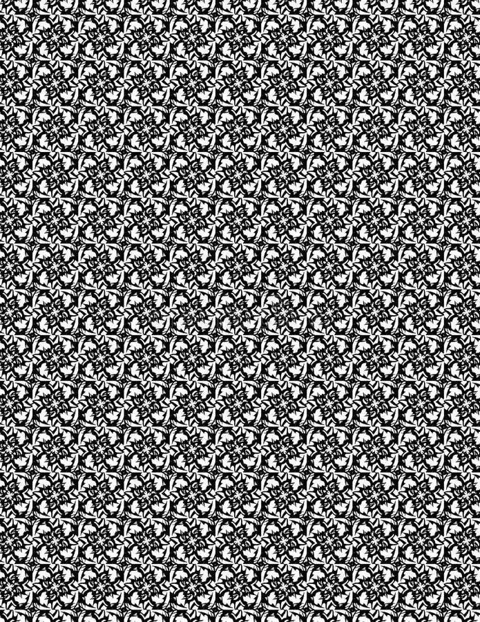 Квадратная племенная картина стоковое изображение