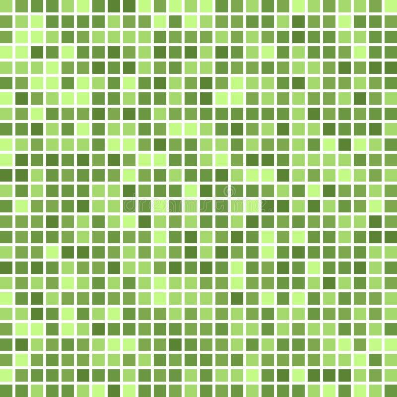 Квадратная цветовая палитра мозаики сработанность цвета комбинированная бесплатная иллюстрация