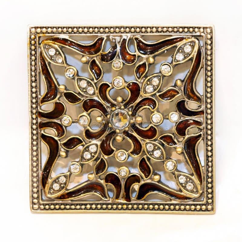Квадратный jewellery стоковая фотография