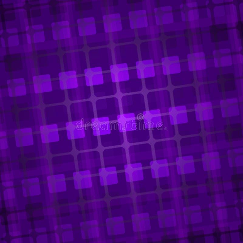 квадраты пурпура предпосылки иллюстрация вектора