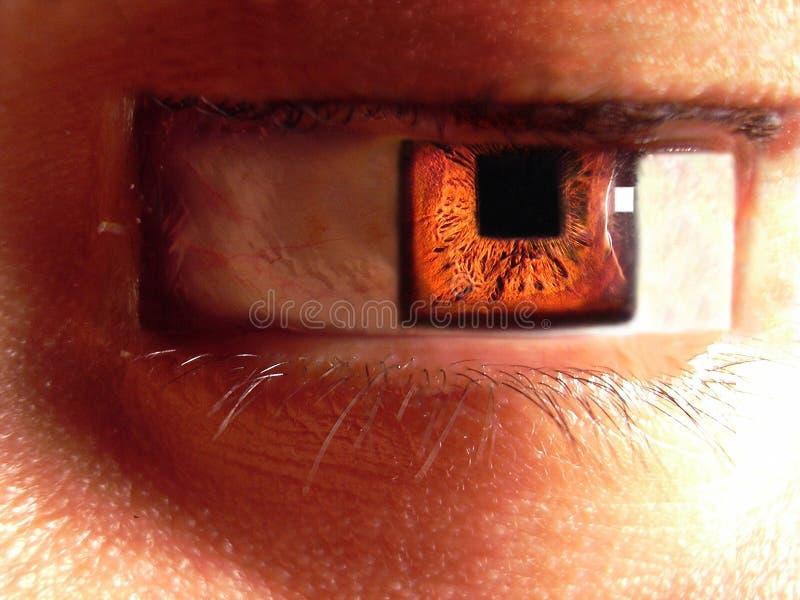 квадрат глаза стоковое изображение rf