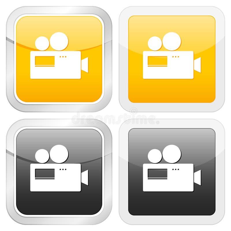 квадрат иконы камеры бесплатная иллюстрация