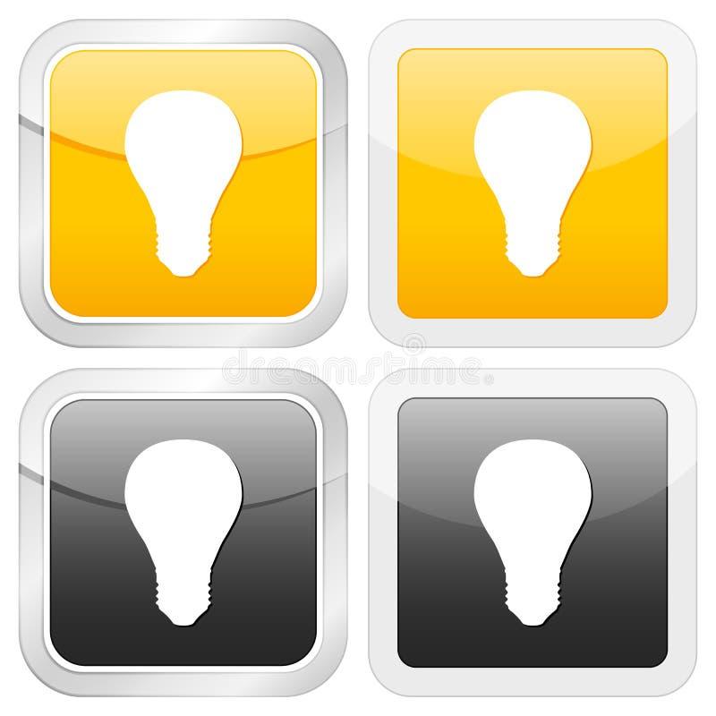 квадрат иконы шарика бесплатная иллюстрация