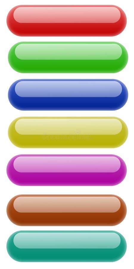квадрат округленный кнопкой стоковые фото