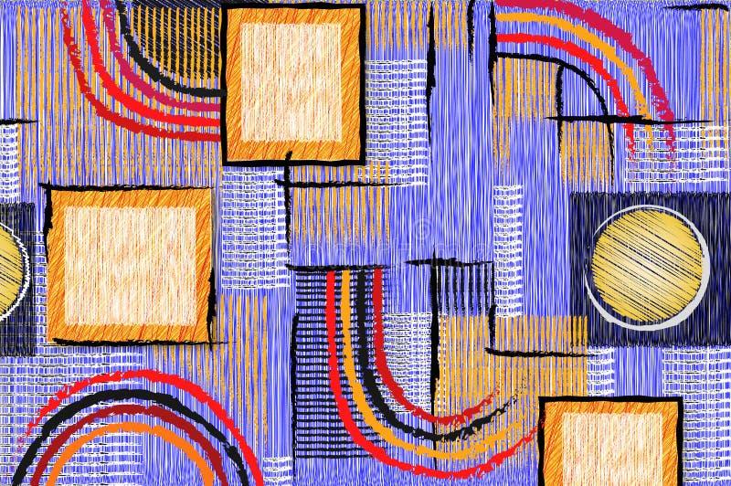 квадрат предпосылки бесплатная иллюстрация