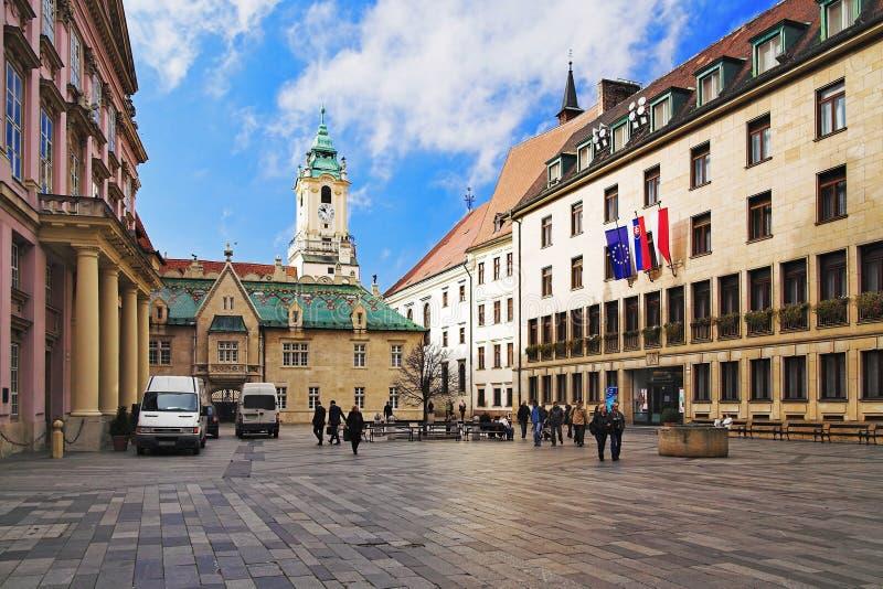квадрат примата s Словакии bratislava стоковая фотография rf
