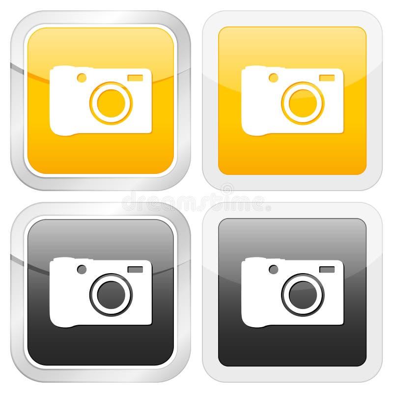 квадрат фото иконы бесплатная иллюстрация