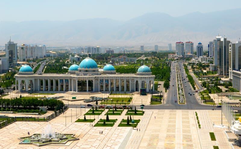 квадрат ashkhabad центральный стоковая фотография