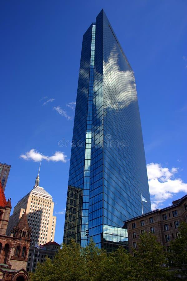 квадрат copley boston стоковая фотография