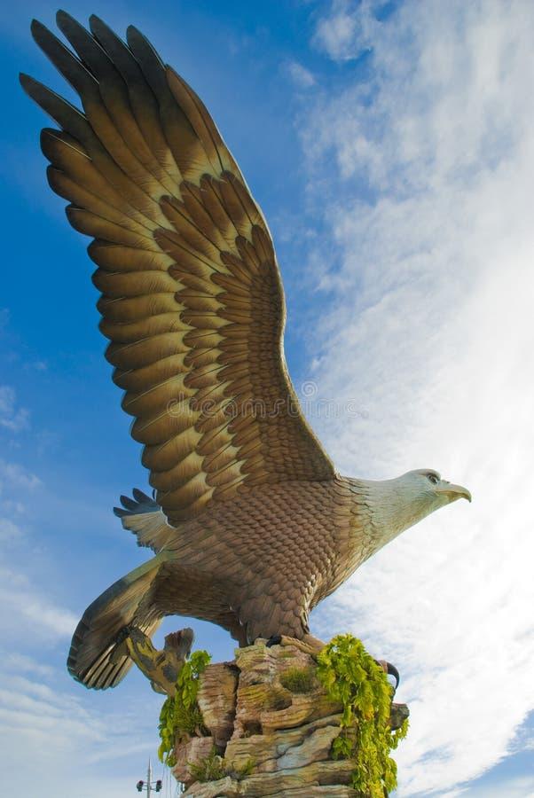 квадрат langkawi орла стоковая фотография rf