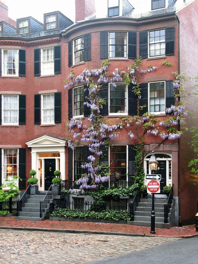 квадрат louisburg boston стоковые фото
