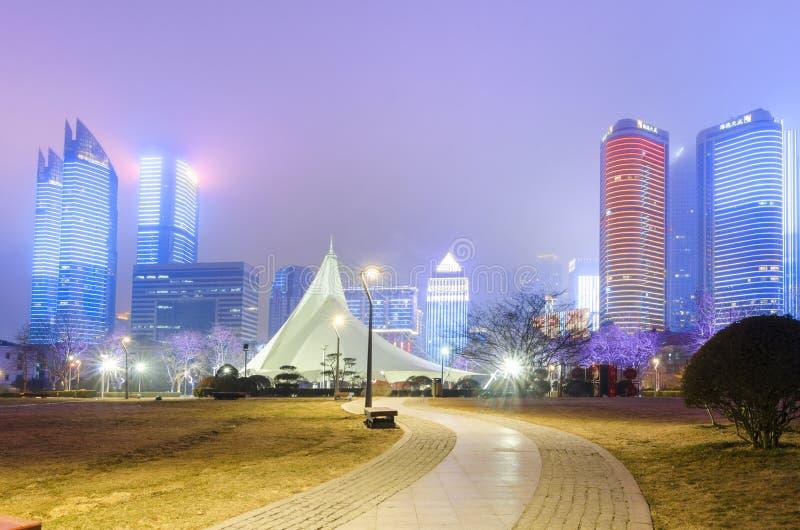 Квадрат Qingdao характерный культурный стоковое изображение