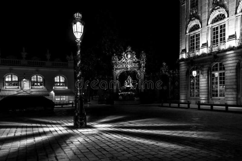 Квадрат Stanislas Нэнси - Франции стоковые изображения rf