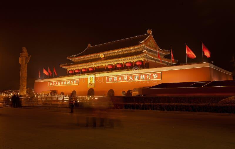 квадрат tiananmen фарфора Пекин стоковое фото