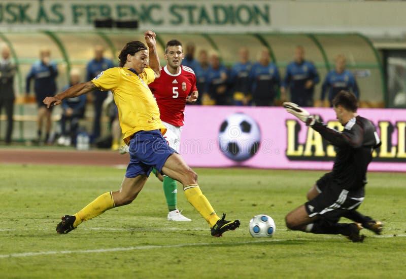 квалификатор Швеция fifa Венгрии чашки против мира стоковые изображения