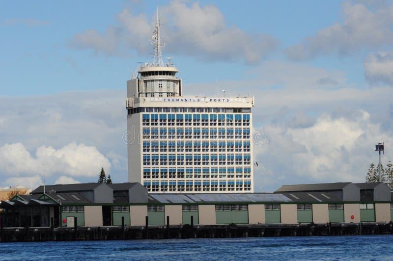 Кварталы Перт управления порта Fremantle головные стоковые изображения