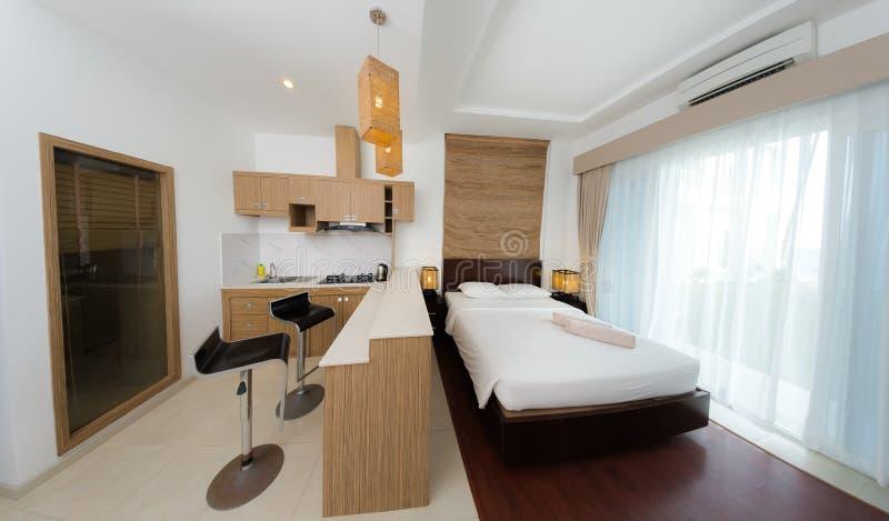 Квартира и внутренняя концепция стоковая фотография rf