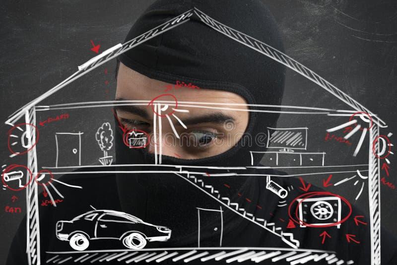 Квартира похитителя стоковое изображение