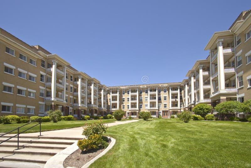 Квартиры в Солт-Лейк-Сити Юте стоковое изображение rf