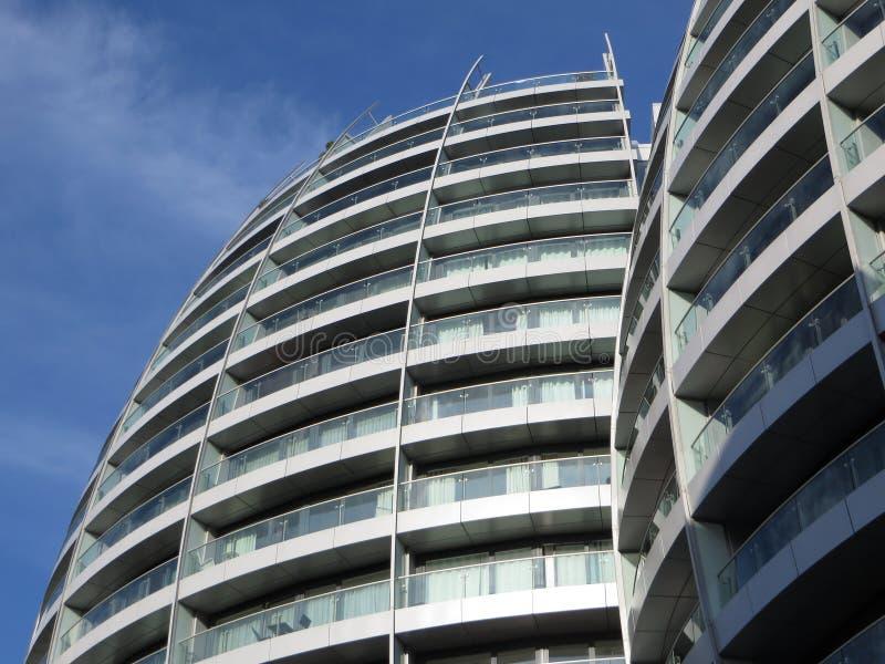 Квартиры Лондона Стоковые Изображения RF