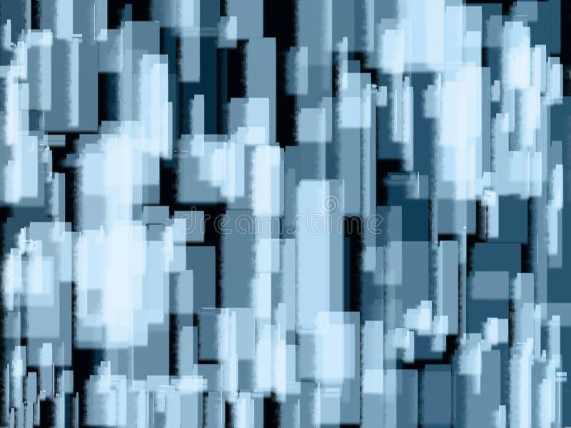 Квадратная абстрактная предпосылка бесплатная иллюстрация
