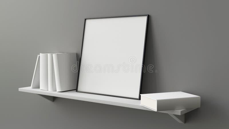 квадратная рамка пробела изображения стоковое фото rf