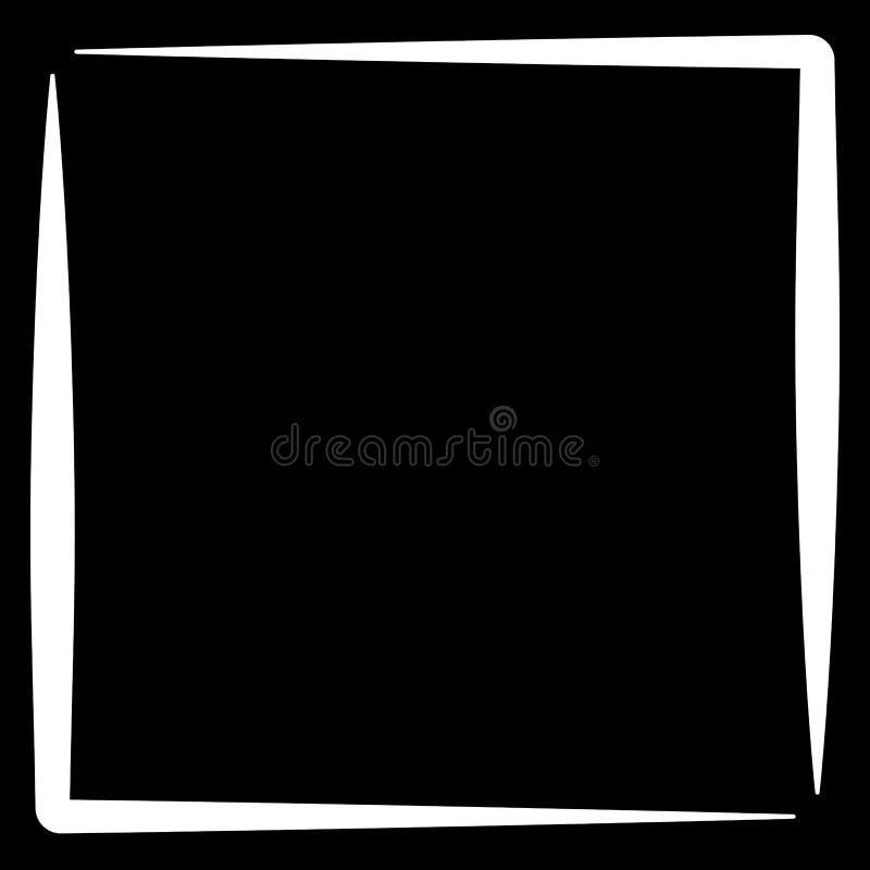 Download Квадратная рамка фото формата, граница фото Иллюстрация вектора - иллюстрации насчитывающей изолировано, asama: 81805767