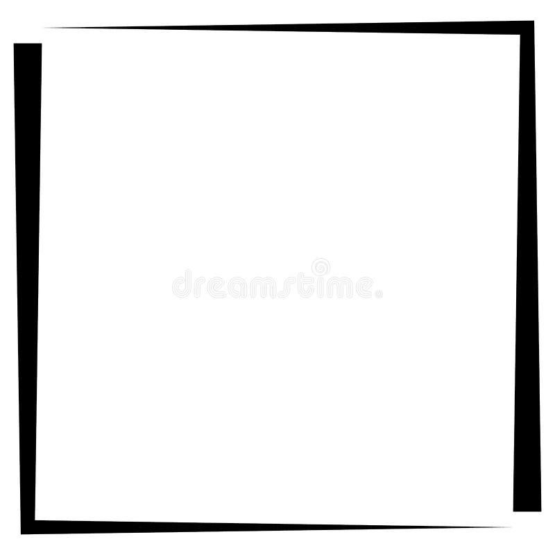 Download Квадратная рамка фото формата, граница фото Иллюстрация вектора - иллюстрации насчитывающей просто, editable: 81805802