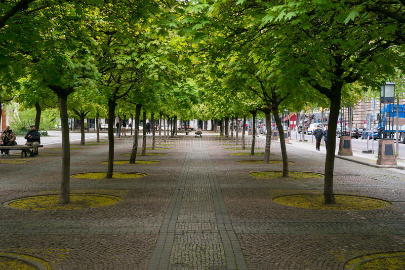Квадратное Gendarmenmarkt. Берлин стоковая фотография rf