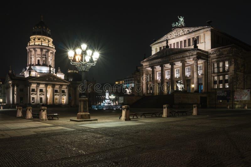 Квадратное Gendarmenmarkt стоковые фото