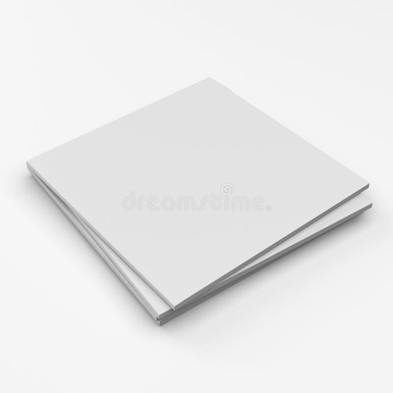 Квадратные каталоги пробела формата иллюстрация вектора