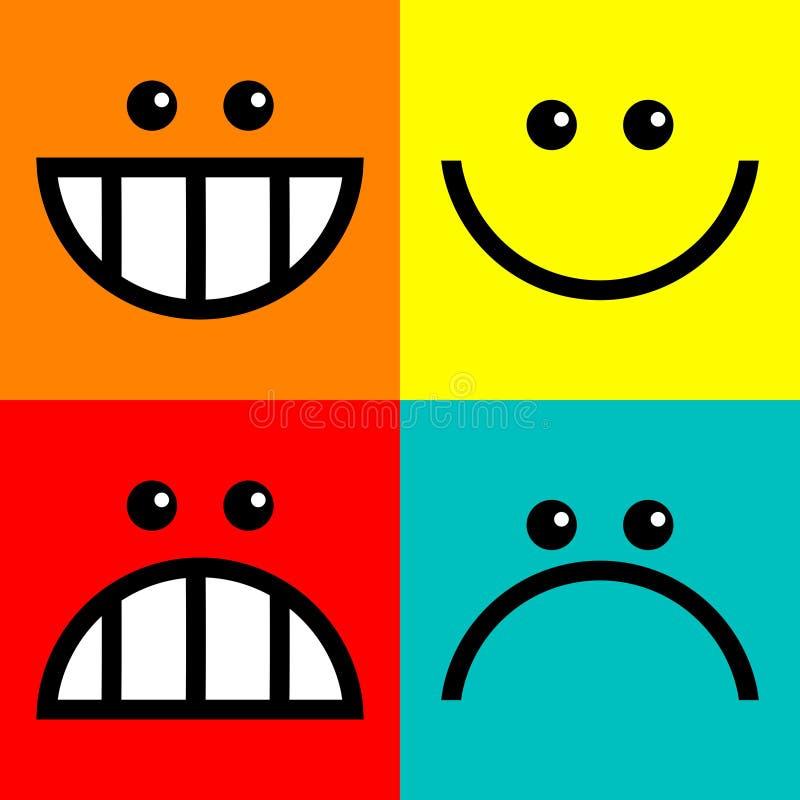 Download Квадратные стороны значка иллюстрация штока. иллюстрации насчитывающей иконы - 41656142