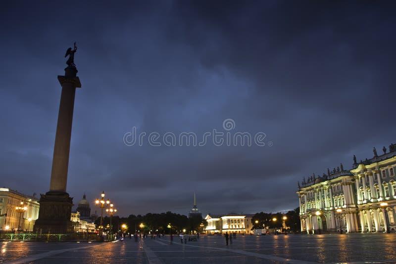 Квадрат дворца, Санкт-Петербург, Россия стоковое изображение rf