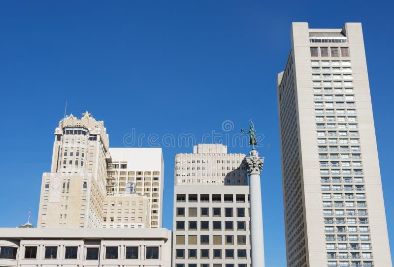 Квадрат соединения Сан-Франциско стоковое изображение rf