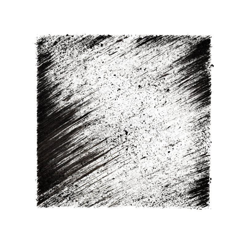 Квадрат с вкосую ходами иллюстрация вектора