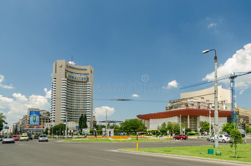 Квадрат университета стоковые фотографии rf