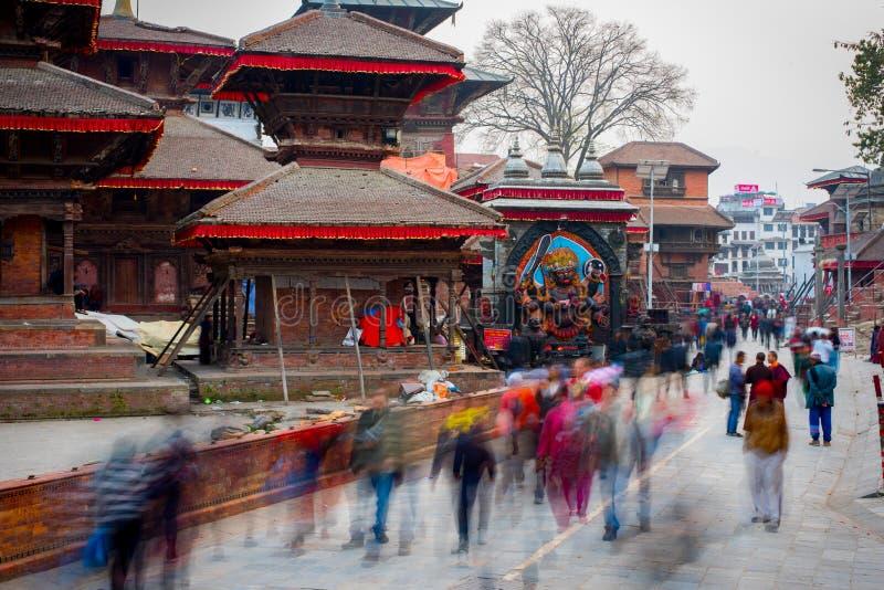 Квадрат Durbar, Катманду стоковое фото rf