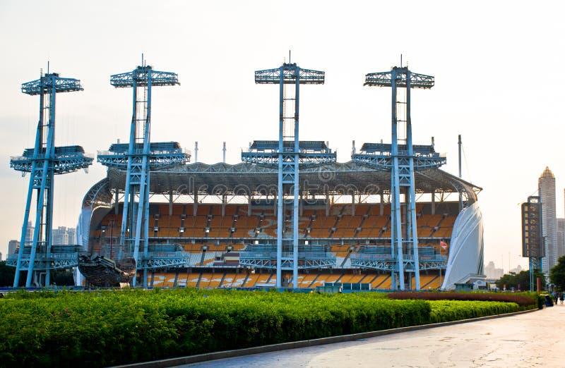 квадрат haixinsha guangzhou 2010 Азиатских игр стоковое фото