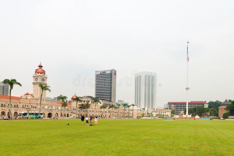 Квадрат Merdeka в Куалае-Лумпур стоковые изображения rf