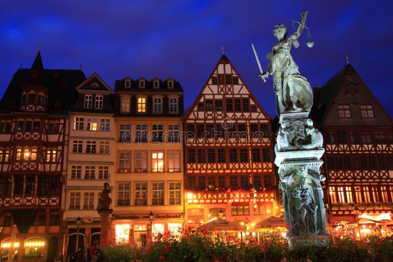 Квадрат Romer, Франкфурт стоковая фотография rf