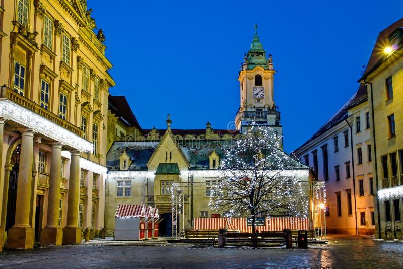 Квадрат ` s примата в Братиславе стоковые фото