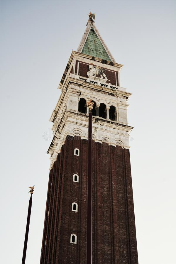 Квадрат ` s St Mark, в Венеции, Италия стоковые изображения rf