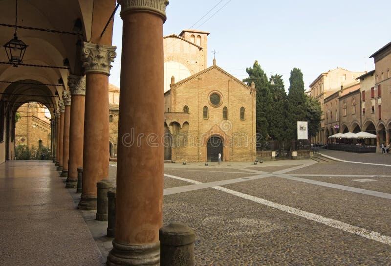 Квадрат Santo stefano - болонья стоковые изображения rf