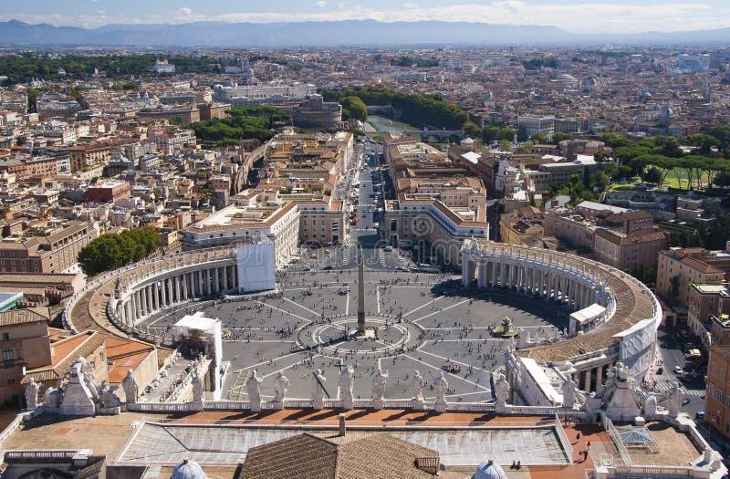 Квадрат St Peter стоковая фотография rf
